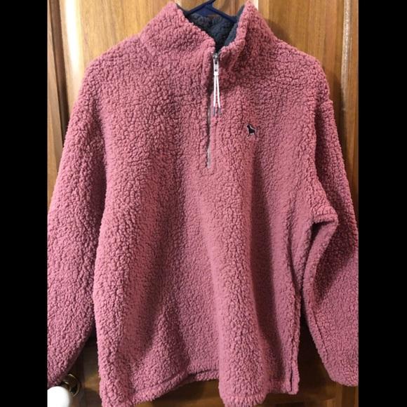 27e947e608 Sherpa Victoria Secrets PINK Quarter-zip. NWT. PINK Victoria s Secret.  55   75. Size. M. Buy Now